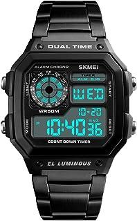 SKMEI Sport Men Watch 5ATM Water-resistant Digital Backlight Man Wristwatch