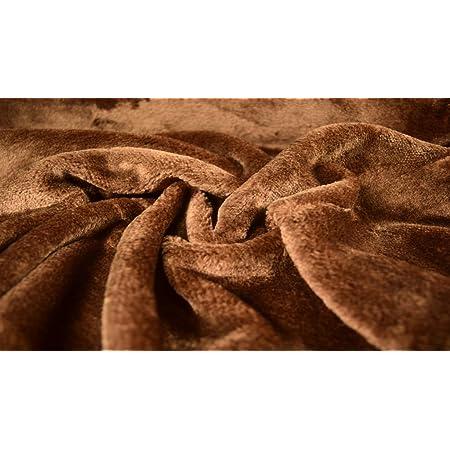 CRS Fur Fabrics Fun /à Poil Long Fausse Fourrure Tissu Mat/ériau/ /Noir givr/é