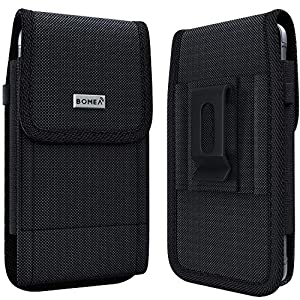 PiTau Belt Holster for Samsung Galaxy S20, Rugged S10 Belt Case with Belt Clip and Loops Tactical Cell Phone Holster…