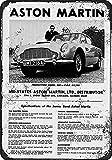 Bond Aston Martin Metall Blechschild Retro Metall gemalt