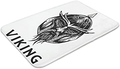 Bpbpack – Casco nórdico Vikingo Guerrero Espada de Odin Tatuaje ...