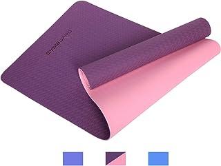 Fannyfuny Esterilla Yoga Pel/ícula de Aluminio A Prueba de Humedad Colchoneta Ejercicio Gimnasio Fitness Pilates Camping Pad Deportes Camping