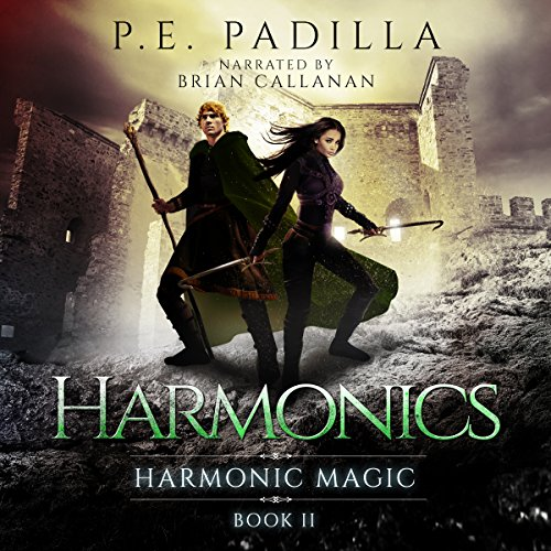 Harmonics audiobook cover art