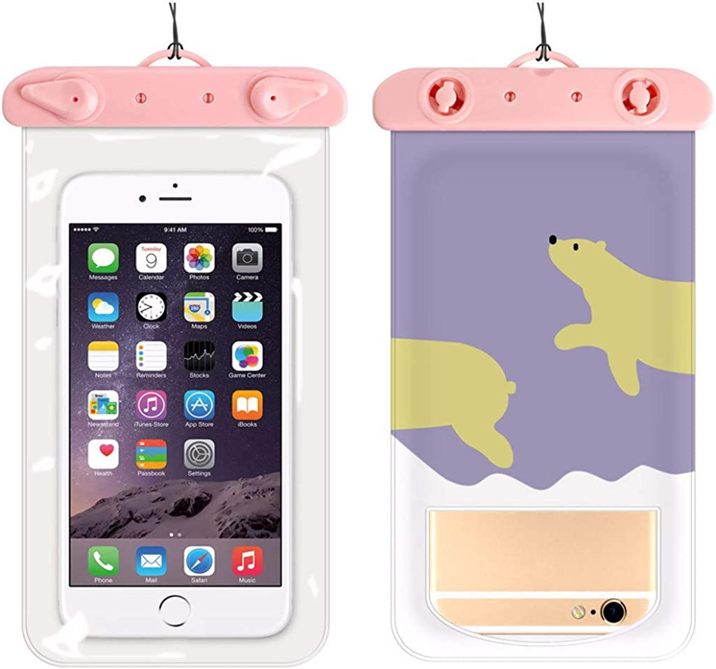 Sunnyadrain Summer Waterproof Pouch Swimming Beach Dry Bag Case Cover Holder for Cell Phone