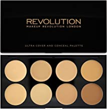 Makeup Revolution London Ultra Cover and Concealer Palette Light/Medium, 10g