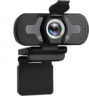 كاميرا ويب كام فل اتش دي 1080P مع ميكروفون بخاصية الغاء الضوضاء وكاميرا بث مباشر للحاسوب وتلفزيون الأندرويد