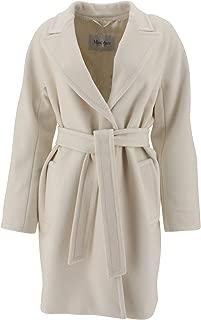 MAX MARA Luxury Fashion Womens 10160793000021 White Coat | Fall Winter 19