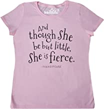 inktastic Though She Be But Little Shakespeare Quote Women's T-Shirt
