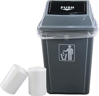 Idomy 18 Gallon Clear Trash Bag Heavy Duty 100 Counts