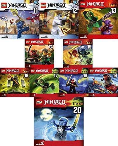 Lego Ninjago: Meister des Spinjitzu (CD 11 - 20) im Set - Deutsche Originalware [10 CDs]