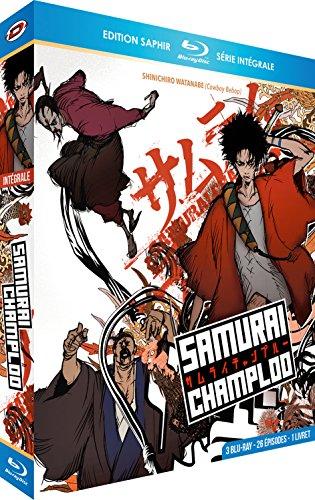 Samurai Champloo-Intégrale [3 Blu-Ray] + Livret [Édition Saphir]