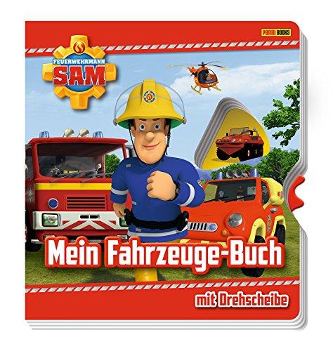 Feuerwehrmann Sam: Mein Fahrzeuge-Buch mit Drehscheibe: Pappbilderbuch mit Drehscheibe