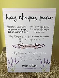 Amazon.es: chapas - España: Handmade