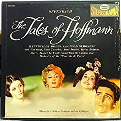 PIERRE MICHEL LE CONTE OFFENBACH THE TALES OF HOFFMANN vinyl record
