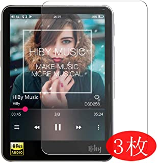 【3 Pack】 Synvy Screen Protector for HiBy Music R3 TPU Flexible HD Clear Case-Friendly Film Protective Protectors [Not Temp...