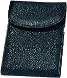 Alassio Kredit - und Visitenkartenetui aus Nappaleder, 10 RFID Document Safe F�cher mit Cryptalloy Folie Visitenkartenh�lle, 12 cm, Schwarz