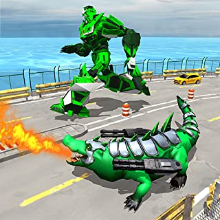 Real Robot Crocodile - Robot Transformation Game