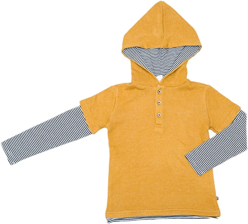 Fore!! Little Boys' L/S 2fer Fashion Hoodie