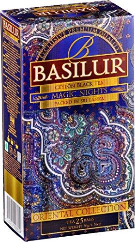 BASILUR Orient Magic Night Schwarzer Tee 25x2g