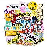 FaCraft Scrapbooking Stickers,45pcs Funny Friends Sticker for Teens,Girls,Friendship Die Cuts Love Scrapbook Kit Stickers