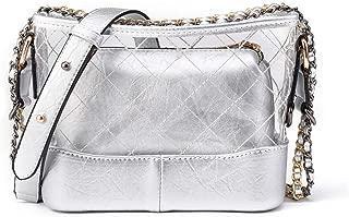 Handbags Women's Transparent PVC PU Leather Material Waterproof Chain Square Top-handle Shoulder Crossbody Bag