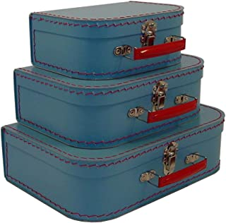 Cargo Cool Euro Suitcases, Soft Blue, Set of 3