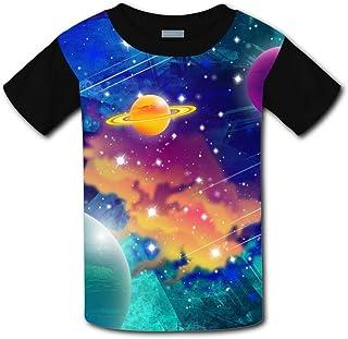Elcacf Kids//Youth Fantasy Crayfish T-Shirts Short Sleeve Children Tees