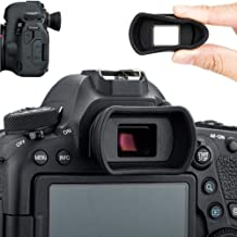 Soft Silicon Camera Viewfinder Eyecup Eyepiece Eyeshade for Canon EOS 6D2 6D 5D2 5D 90D 80D 77D 70D 60D 50D Rebel T7i T7 T6s T6i T6 T5i T5 T4i T3i T3 T2i T1i SL3 SL2 SL1 Replaces Canon EB Ef Eye Cup