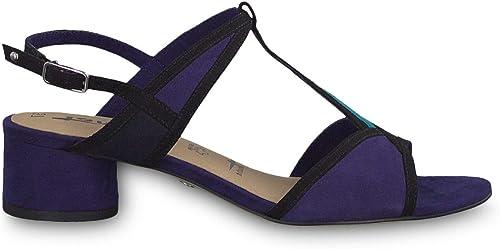 Tamaris - MultiCouleur Hasil Healed Sandals Sandals - 28256 32818 bleu Comb  prix ultra bas