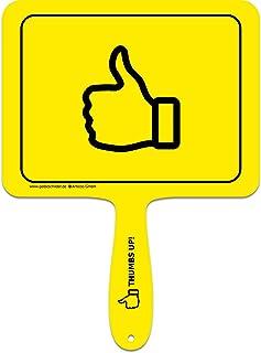 ARTICOO Daumen Hoch/Thumbs-Up Sprüche Schild fürs Büro, A