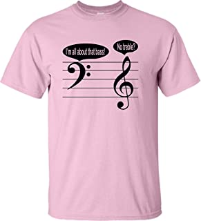 all about the bass t shirt