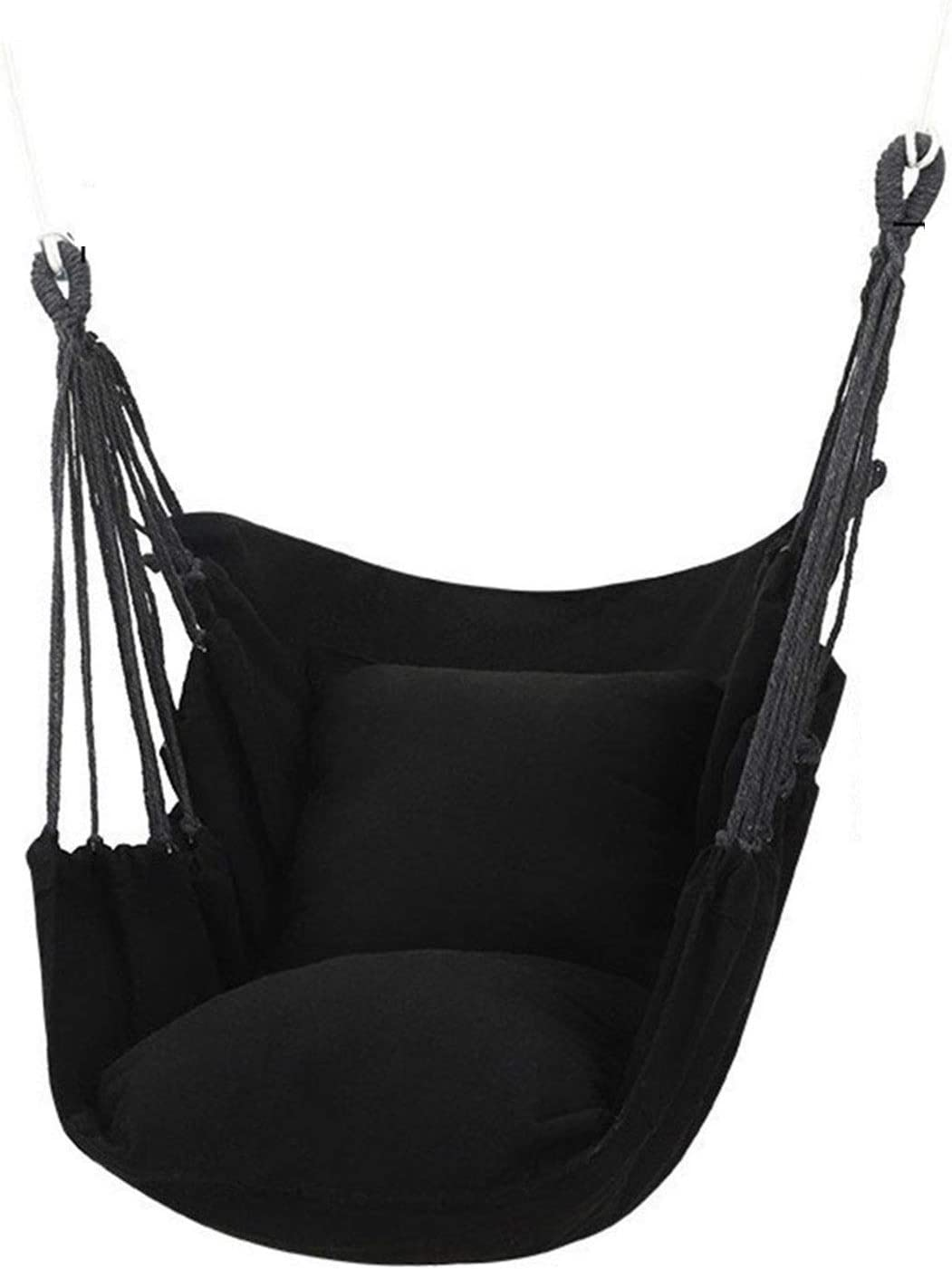 MLDTX Hanging Rope Hammock Chair Las Vegas Mall Swing 440Lbs Soft-S - Seat- Very popular Max