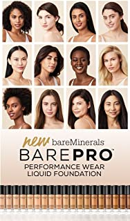bareMinerals BarePro Performance Wear Liquid Foundation Fair 01, 1 Fluid Ounce