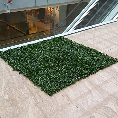 FLAMEER 2 Stück Artifical Turf Lawn Green - Grün, 25cm