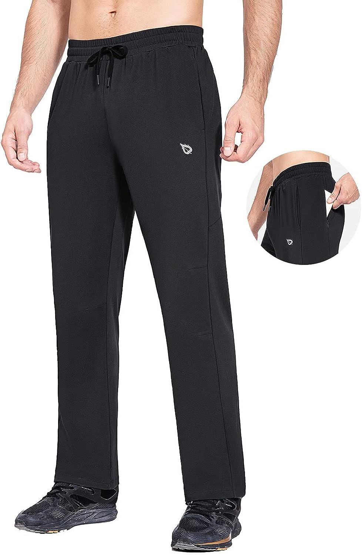 BALEAF Men's Fleece Be super welcome outlet Lined Water Pants Winter Resistant Running S