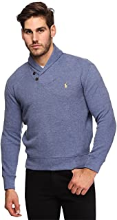 Polo Ralph Lauren Mens French Rib Shawl Neck Sweater