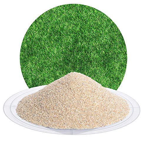 25 kg Spezial Rasensand zur Rasenpflege, Bodenauflockerung, für grünen Rasen, zur Belüftung des Bodens von Schicker Mineral (Premium-Rasensand, 0,5-1,0 mm)