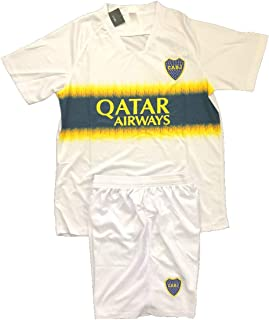 Boca Juniors Soccer Away Men's Uniform Sets Jersey & Short .New