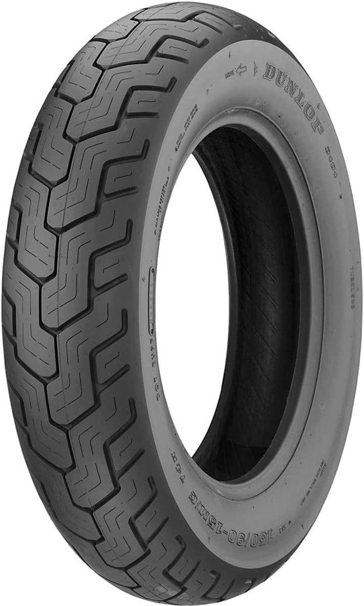 Dunlop A surprise price is realized D404 Rear Motorcycle Tire 170 77H 80-15 Black Wall Ranking TOP12