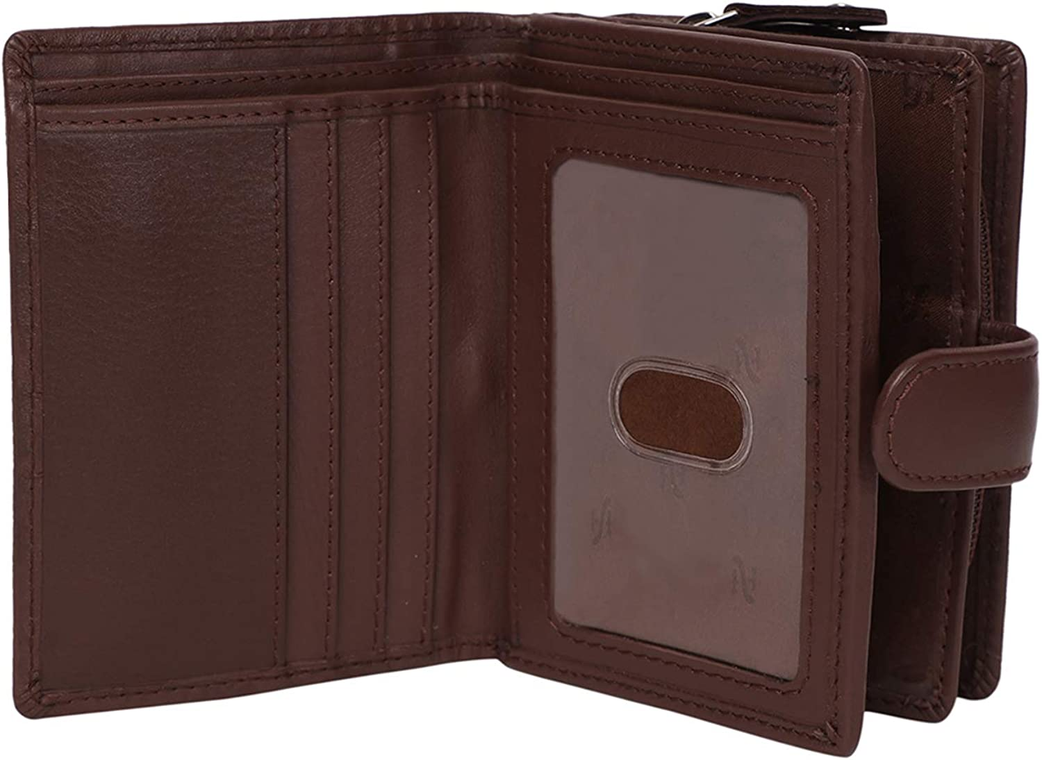 Tampa Mall STARHIDE Ladies RFID Blocking Genuine Max 40% OFF With Leather Clutch Wallet