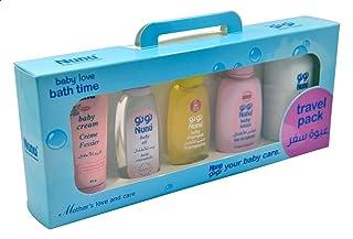 مجموعة منتجات العناية بالطفل من نونو ، 50 مل - 5 قطع