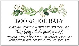 books for baby card insert