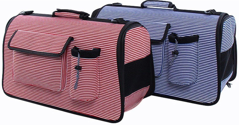 DESESHENME Pet out shoulder bag breathable handbag out of the carrying casev,D52×22×31cm