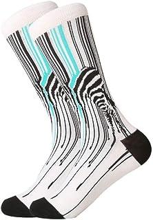 Calcetines Calcetines De Boda Divertidos De Color para Hombre, Monopatín con Ruedas, Paquete De 1 Par 3 Pares