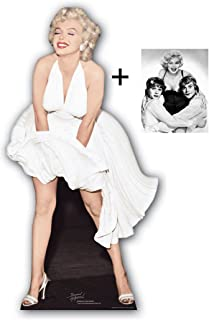 *FAN PACK* - MARILYN MONROE CLASSIC WHITE DRESS BLOWING UP - LIFESIZE CARDBOARD CUTOUT (STANDEE / STANDUP) - INCLUDES 8X10 (25X20CM) STAR PHOTO - FAN PACK #174