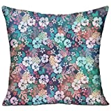 FPDecor Multi-Sized Zierkissen Charming Hawaii Flower Cushion Cover Polyester Cover Zipper...