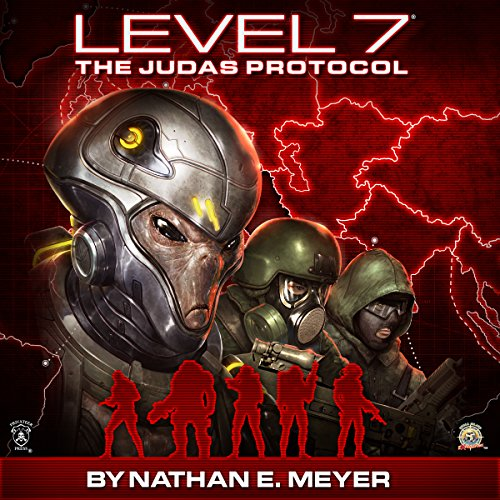 LEVEL 7: The Judas Protocol audiobook cover art