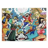 ワンピース One Piece11 ジグソーパズル 1000ピース 知的ゲーム 家族オモチャ 子供向けパズル キッズ 孫 人気 誕生日プレゼント 贈り物