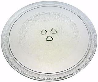 Plateau tournant en verre pour micro-onde lg avec 3 encoches 28cm de diamètre