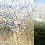 Película de Ventana electrostática con Efecto Arco Iris, Etiqueta de...